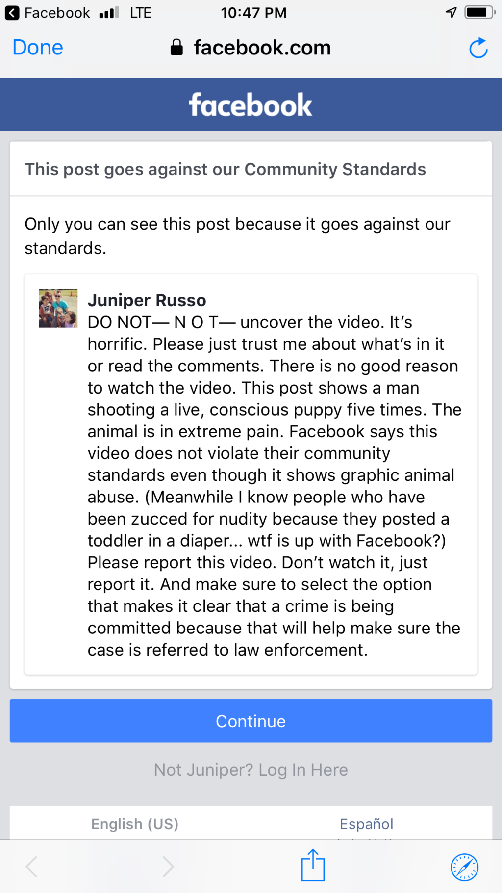 How I Got Banned From Facebook for Reporting Animal Abuse