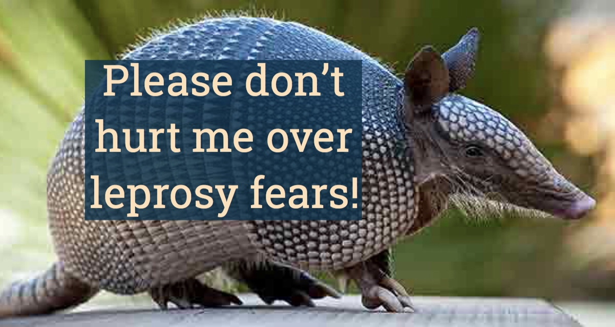 Don't hurt me over leprosy fears!